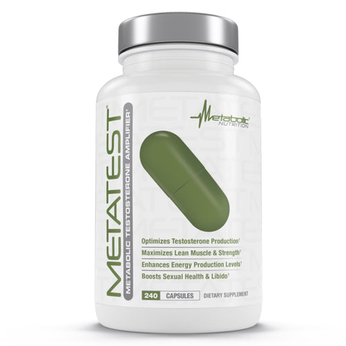 Shop Metabolic Nutrition Metatest, 240 Capsule online  sports-nutrition-testosterone-boosters