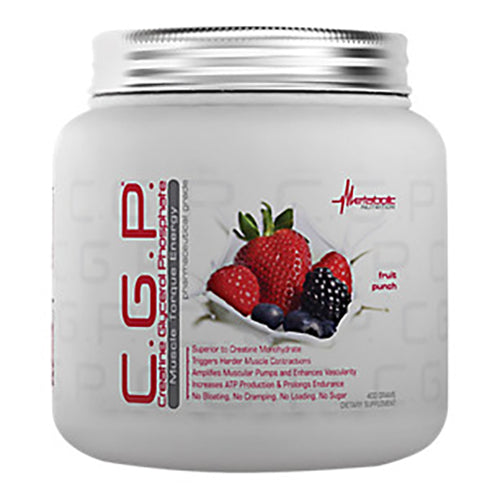 Shop Metabolic Nutrition C.G.P., Fruit Punch, 400 Gram online  creatine-nutritional-supplements