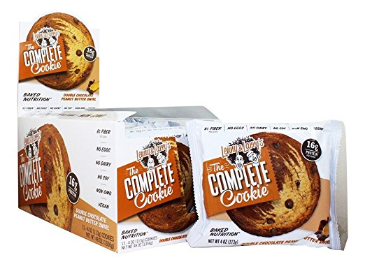 Shop Lenny & Larry's Complete Cookie, Double Chocolate Peanut Butter, 12 Count online  sports-nutrition-protein-bars