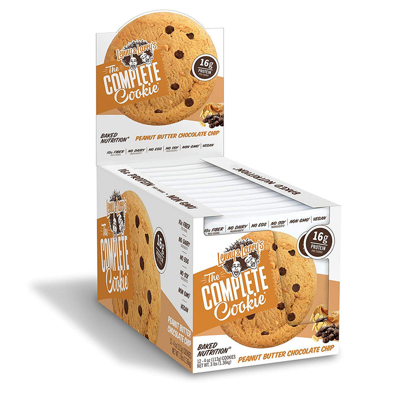 Shop Lenny & Larry's Complete Cookie, Peanut Butter Chocolate Chip, 12 Count online  packaged-chocolate-snack-cookies