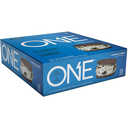 Shop ISS Oh Yeah! One Bar, Cookies and Creme, 12 Count online  sports-nutrition-protein-bars
