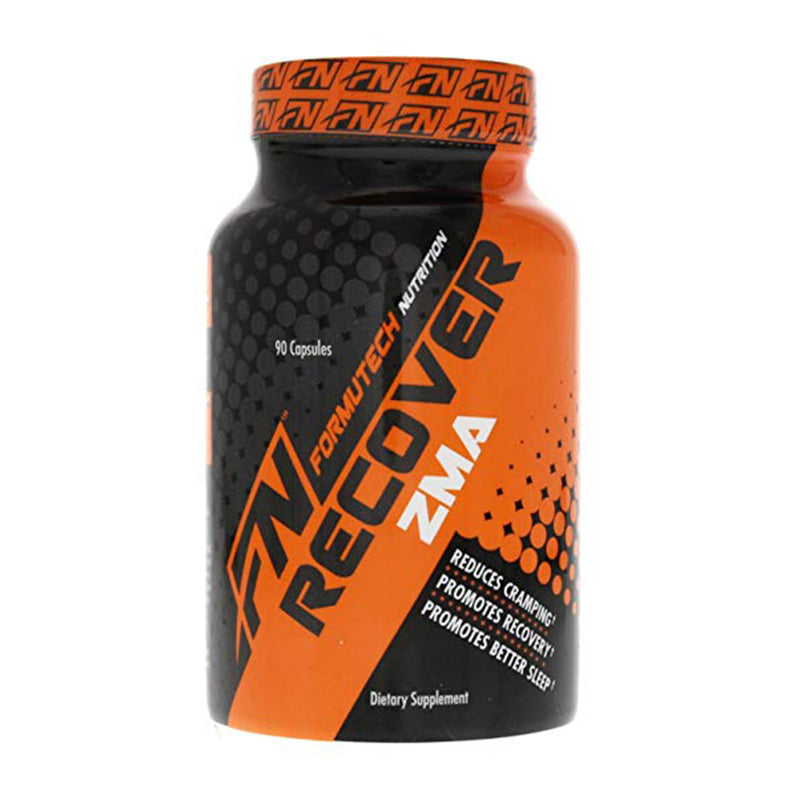 Shop Formutech Nutrition Recover ZMA, 90 Capsule online  sports-nutrition-testosterone-boosters