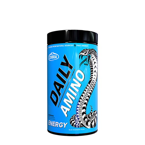 Shop Cobra Labs Daily Amino, Blue Raspberry Rush, 30 Serving online  amino-acids