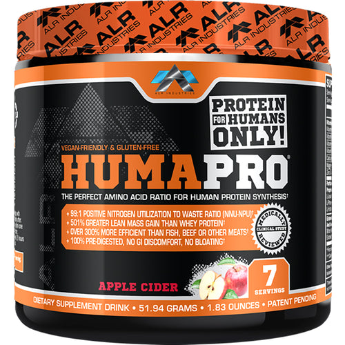 Shop ALR Industries HumaPro Powder, Apple Cider, 51.94 Gram online  sports-nutrition-protein-powder-blends