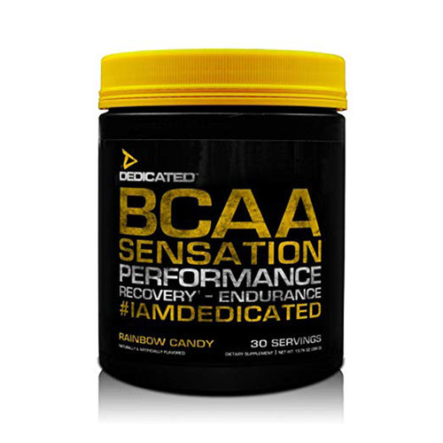Shop DEDICATED BCAA Sensation, 30 Serving, Rainbow Candy online  branched-chain-amino-acids-nutritional-supplements