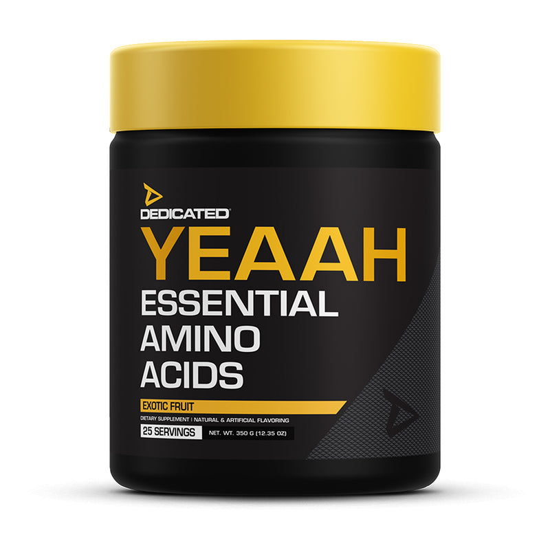 Shop DEDICATED YEAAH EAAs, 25 Servings, Exotic Fruit online  sports-nutrition-post-workout-and-recovery