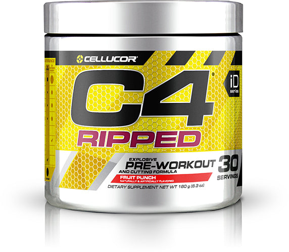 Shop Cellucor C4 Ripped, Fruit Punch, 30 Serving online  sports-nutrition-pre-workout-powders