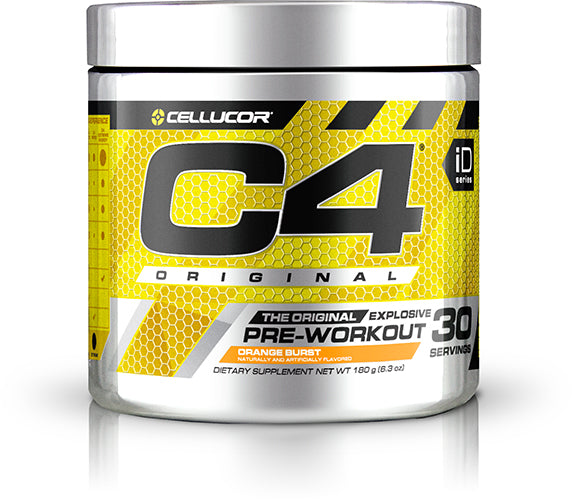 Shop Cellucor C4, Orange Burst, 30 Serving online  sports-nutrition-pre-workout-powders