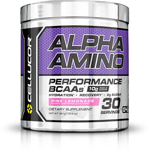 Shop Cellucor Alpha Amino, Pink Lemonade, 30 Serving online  amino-acid-combinations