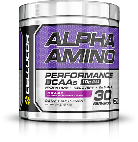 Shop Cellucor Alpha Amino, Grape, 30 Serving online  amino-acid-combinations