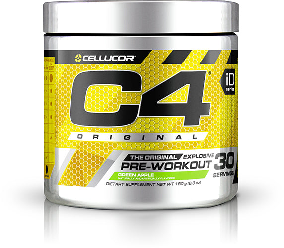 Shop Cellucor C4, Green Apple, 30 Serving online  sports-nutrition-pre-workout-powders