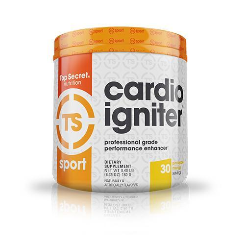 Shop Top Secret Nutrition Cardio Igniter, Pineapple Mango, 30 Serving online  sports-nutrition-pre-workout-supplements