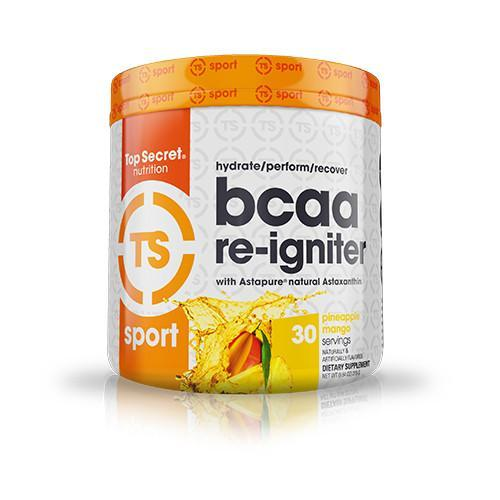 Shop Top Secret Nutrition BCAA Re-Igniter, Pineapple Mango, 30 Serving online  branched-chain-amino-acids-nutritional-supplements