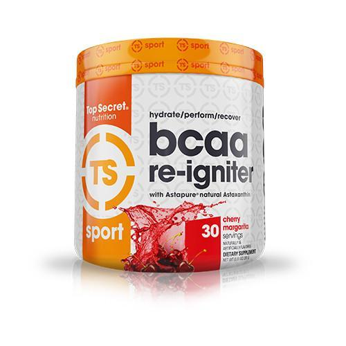 Shop Top Secret Nutrition BCAA Re-Igniter, Cherry Margarita, 30 Serving online  branched-chain-amino-acids-nutritional-supplements