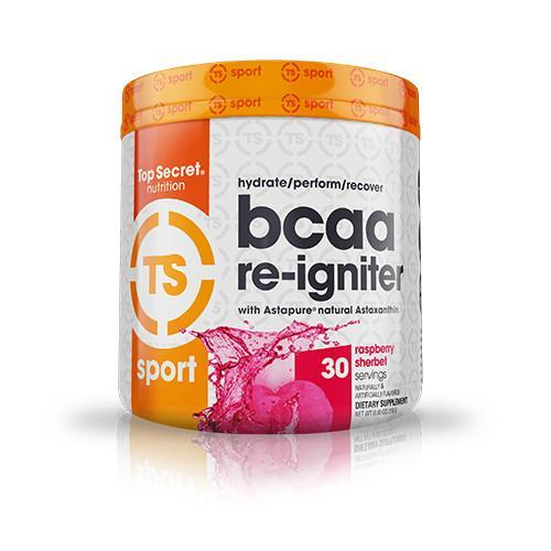 Shop Top Secret Nutrition BCAA Re-Igniter, Raspberry Sherbet, 30 Serving online  branched-chain-amino-acids-nutritional-supplements