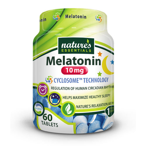 Shop Nature's Essentials Melatonin, 60 Tablet online  sleep-aids