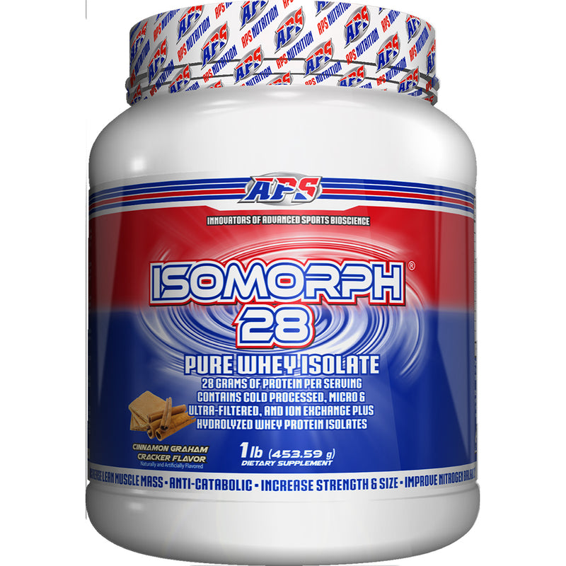 Shop APS Nutrition Isomorph 28, Cinnamon Graham Cracker, 1 Pound online  sports-nutrition-protein-powder-blends
