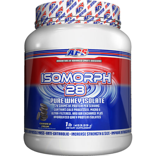 Shop APS Nutrition Isomorph 28, Cookies & Cream, 1 Pound online  sports-nutrition-protein-powder-blends