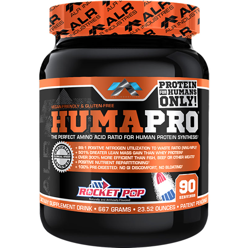 Shop ALR Industries HumaPro Powder, Rocket Pop, 667 Gram online  sports-nutrition-protein-powder-blends