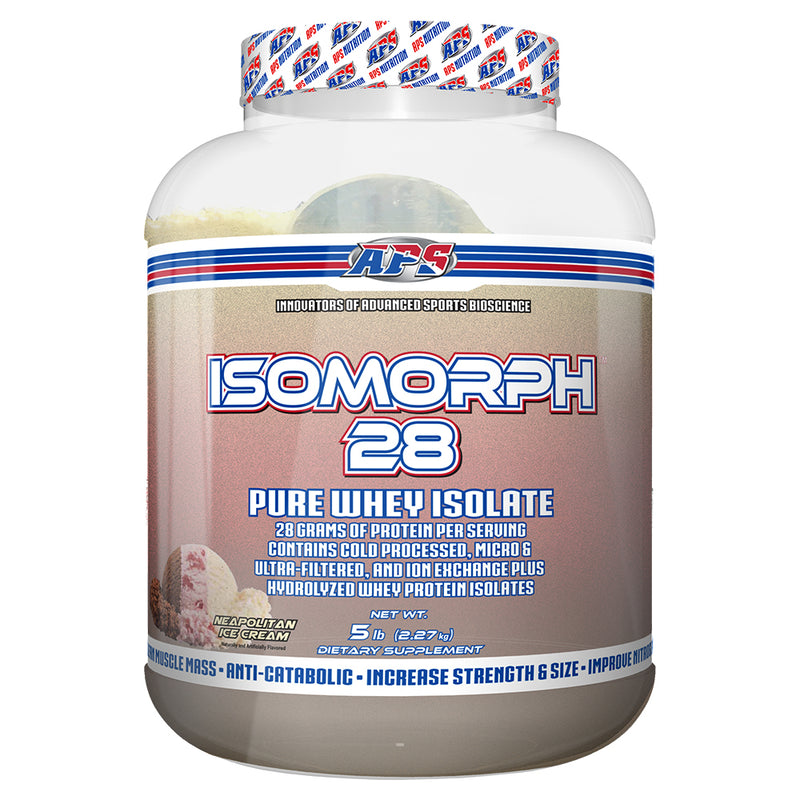 Shop APS Nutrition Isomorph 28, Neapolitan Ice Cream, 5 Pound online  sports-nutrition-protein-powder-blends