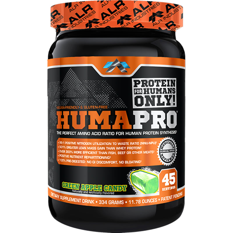 Shop ALR Industries HumaPro Powder, Green Apple Candy, 334 Gram online  sports-nutrition-protein-powder-blends