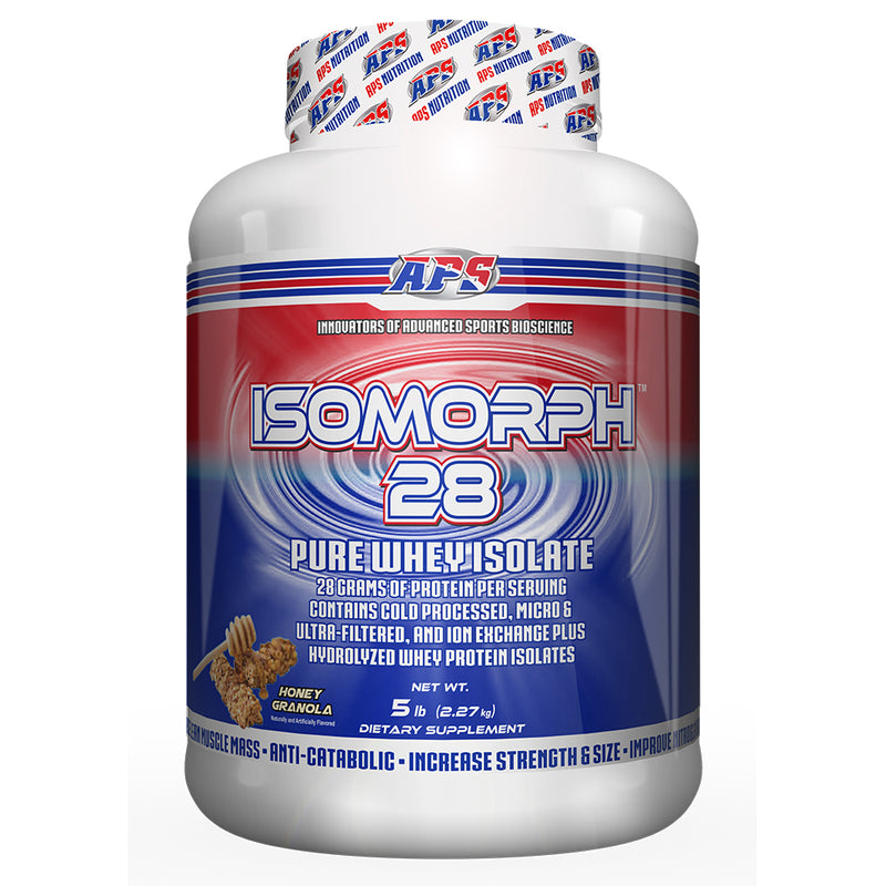 Shop APS Nutrition Isomorph 28, Honey Granola, 5 Pound online  sports-nutrition-protein-powder-blends
