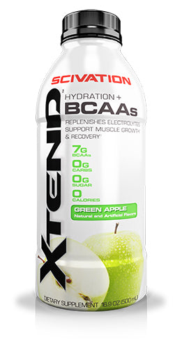 Shop Scivation Xtend RTD, Green Apple, 12 x 16.9 Fluid Ounce online  branched-chain-amino-acids-nutritional-supplements