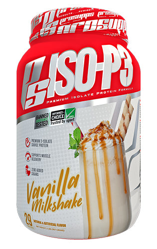 Shop Pro Supps ISO-P3, Vanilla Milkshake, 2 Pound online  sports-nutrition-whey-protein-powders