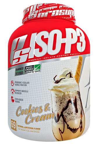 Shop Pro Supps ISO-P3, Cookies & Cream, 5 Pound online  sports-nutrition-whey-protein-powders