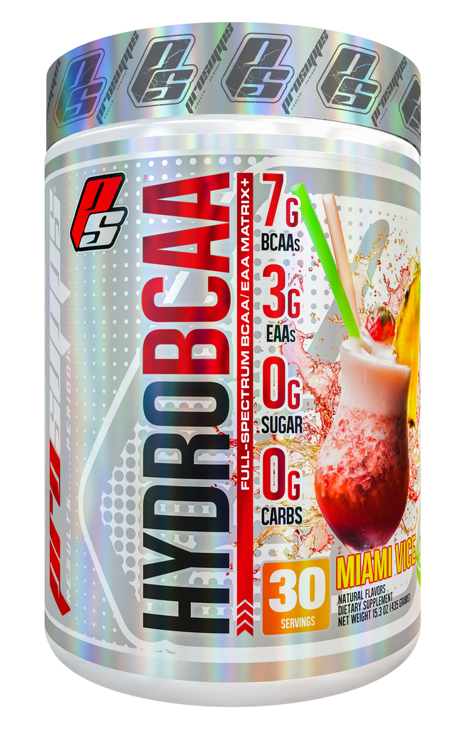 Shop Pro Supps Hydro BCAA, Miami Vice, 30 Serving online  branched-chain-amino-acids-nutritional-supplements