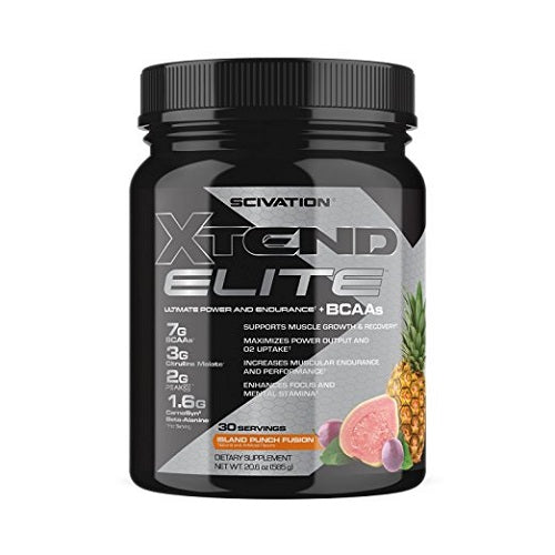 Shop Scivation Xtend Elite, Island Punch Fusion, 30 Serving online  branched-chain-amino-acids-nutritional-supplements