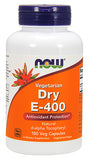Shop NOW Foods Vitamin E-400 Dry, 100 Capsule online  vitamin-e