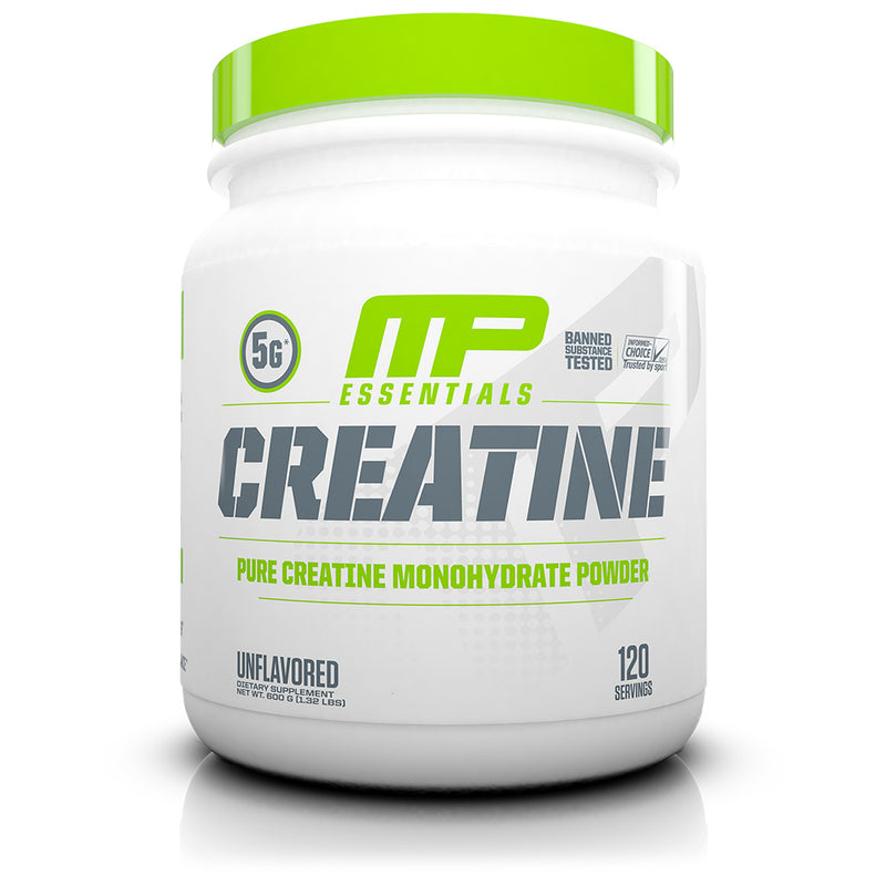 Shop MusclePharm Essentials Creatine, Unflavored, 120 Serving online  creatine-nutritional-supplements