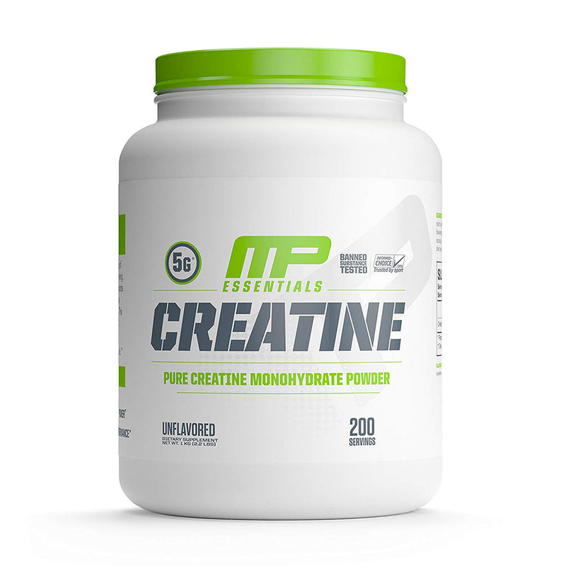 Shop MusclePharm Essentials Creatine, Unflavored, 200 Serving online  creatine-nutritional-supplements