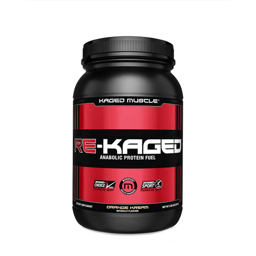Shop Kaged Muscle Re-Kaged, Orange Kream, 20 Serving online  sports-nutrition-post-workout-and-recovery-powders