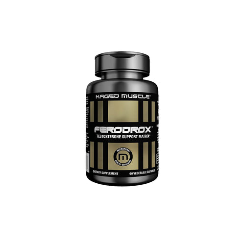 Shop Kaged Muscle Ferodrox, 60 Vegetable Capsule online  sports-nutrition-testosterone-boosters