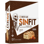 Shop SinFit (Sinister Labs) Double Layer High Protein Crunch Bar, Caramel Crunch, 12 Count online  sports-nutrition-protein-bars