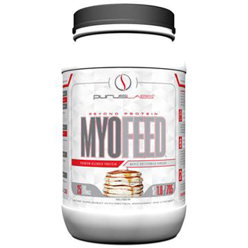 Shop Purus Labs MyoFeed, 2 Pound, Maple Buttermilk Pancake (1.8 Pound) online  sports-nutrition-protein-powder-blends