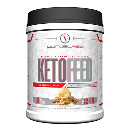 Shop Purus Labs KetoFeed, 15 Serving, Salted Vanilla Caramel online  sports-nutrition-whey-protein-powders