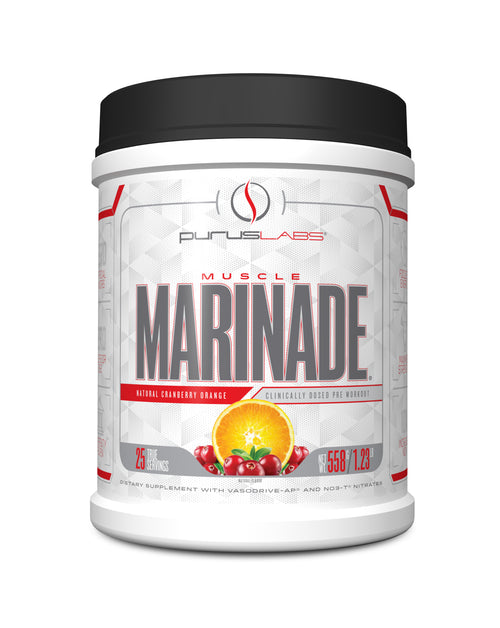 Shop Purus Labs Muscle Marinade, Cranberry Orange, 25 Serving online  sports-nutrition-pre-workout-supplements
