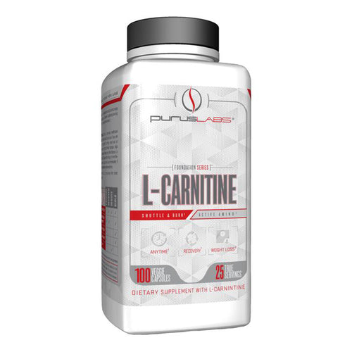 Shop Purus Labs Foundation Series L-Carnitine, 100 Veggie Capsule (25 Serving) online  sports-nutrition-l-carnitine-supplements