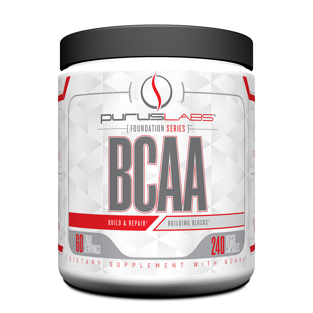 Shop Purus Labs Foundation Series BCAA, 240 Veggie Capsule (60 Serving) online  branched-chain-amino-acids-nutritional-supplements