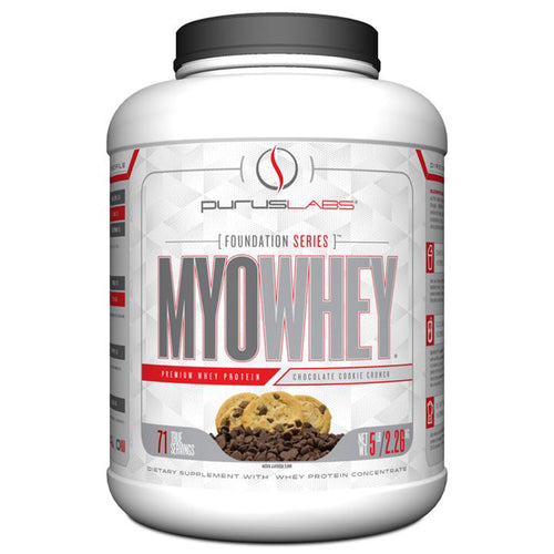Shop Purus Labs MyoWhey, Chocolate Cookie Crunch, 5.8 Pound online  sports-nutrition-whey-protein-powders