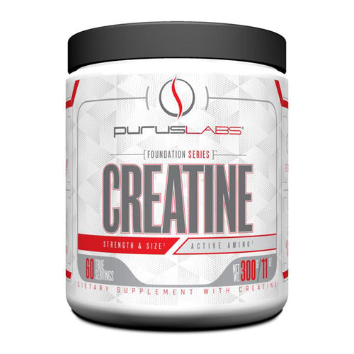 Shop Purus Labs Foundation Series Creatine 300 Gram, 60 Serving (Unflavored) online  creatine-nutritional-supplements