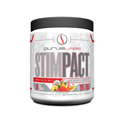 Shop Purus Labs StimPact, Smooth Tropical Breeze, 30 Serving online  sports-nutrition-pre-workout-supplements