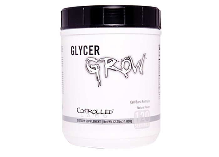 Shop Controlled Labs Glycer Grow 2, Natural, 60 Serving online  sports-nutrition-pre-workout-supplements