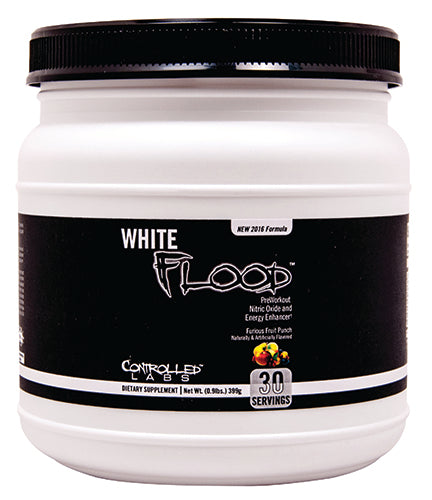 Shop Controlled Labs White Flood, Furious Fruit Punch, 30 Serving online  sports-nutrition-pre-workout-supplements