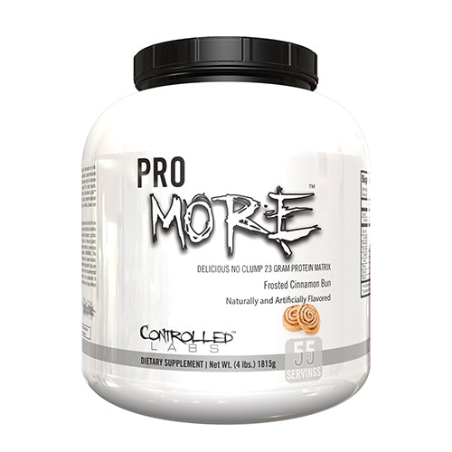 Shop Controlled Labs Promore, Frosted Cinnamon Bun, 4 Pound online  sports-nutrition-protein-powder-blends