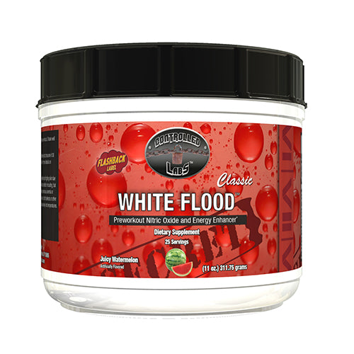 Shop Controlled Labs White Flood Classic, Juicy Watermelon, 25 Serving online  sports-nutrition-pre-workout-supplements