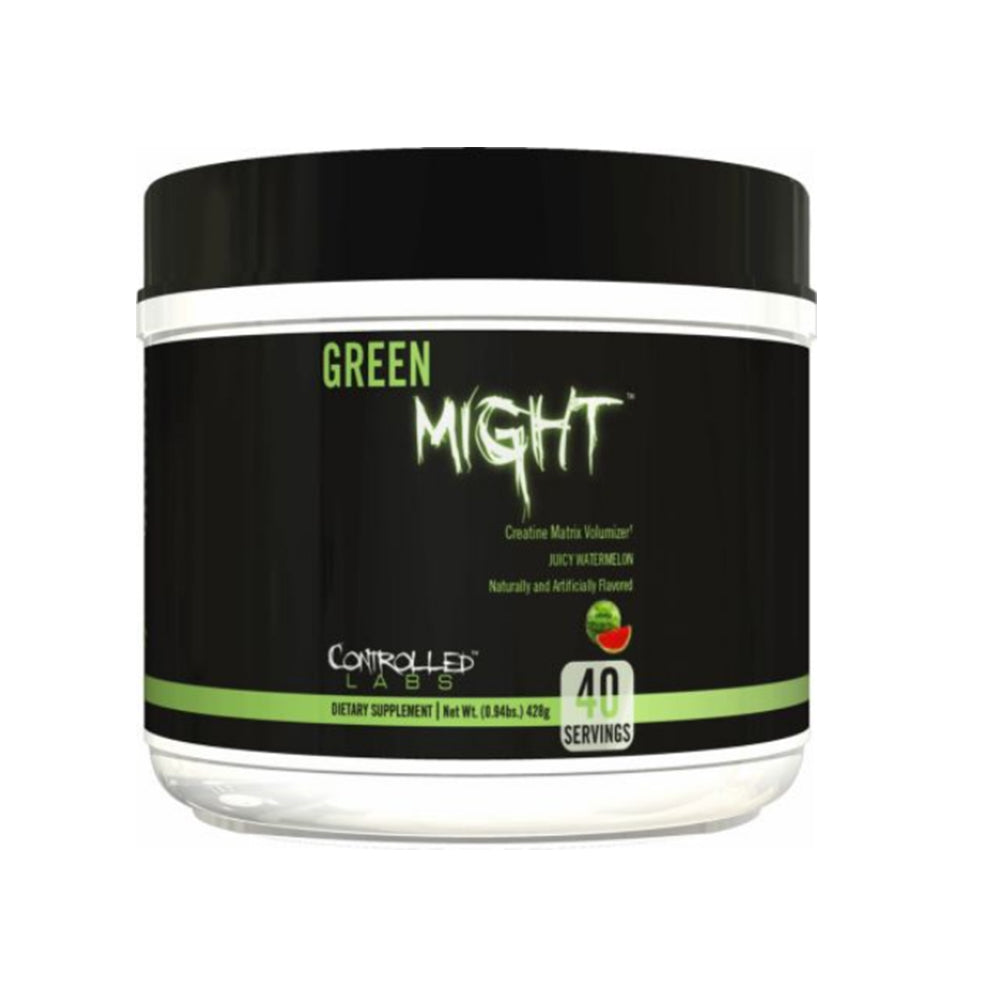 Shop Controlled Labs Green Might, Juicy Watermelon, 40 Serving online  creatine-nutritional-supplements